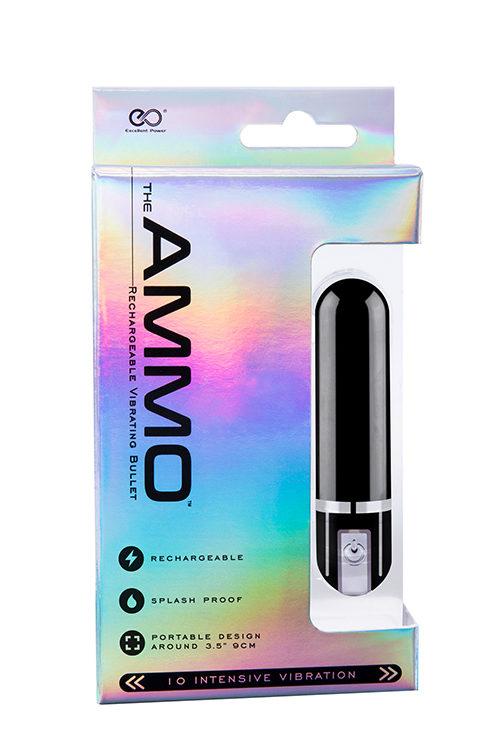 THE AMMO BLACK 6CM δονητης