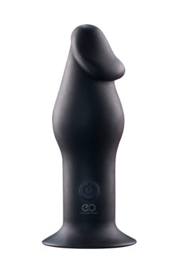 5INCH RECHARGEABLE BUTTPLUG BLACK σφηνα