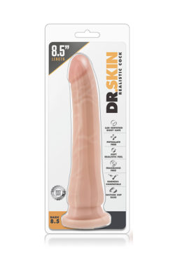 dildo DR. SKIN REALISTIC COCK BASIC 8.5 BEIGE