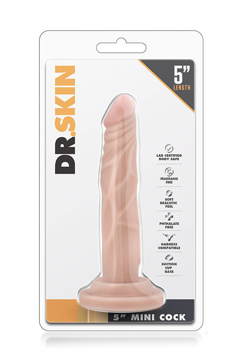 φαλλός DR. SKIN 5 INCH MINI COCK FLESH