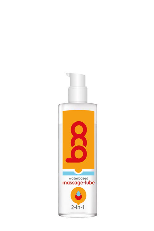 BOO 2-IN-1 MASSAGE-LUBE